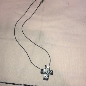 Silpada cross necklace